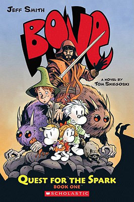 Bone Quest for the Spark Book One by Tom Sniegoski and Jeff Smith