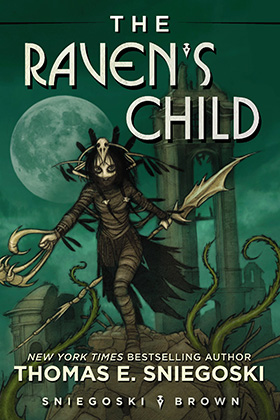 The Raven's Child by Thomas E. Sniegoski with art by Tom Brown