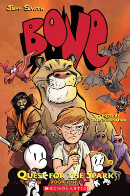 Bone Quest for the Spark Book Two by Tom Sniegoski and Jeff Smith